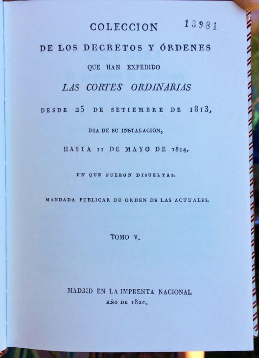 Decretos 1820