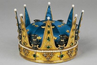 Prins Karls (XIII) krona, utförd till Gustav III:s kröning 1772 av Johan Adam Marcklin, Stockholm.