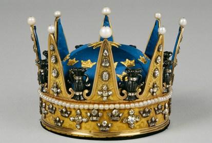 Prinsessan Sofia Albertinas krona, utförd i Stockholm 1772 av Johan Adam Marcklin.