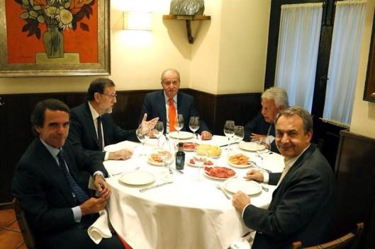 cena en Casa Lucio