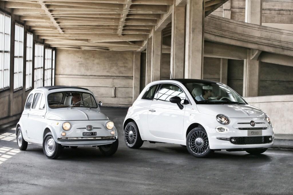 vecchia e nuova 500