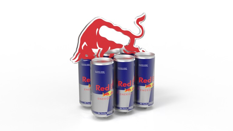 Red Bull Can Carrier 3D