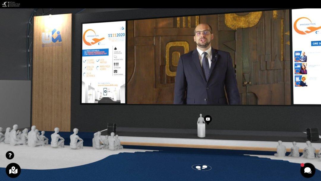 futurabile 3D palco principale