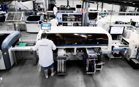 Lignes CMS usine INOVELEC PROTOLAB