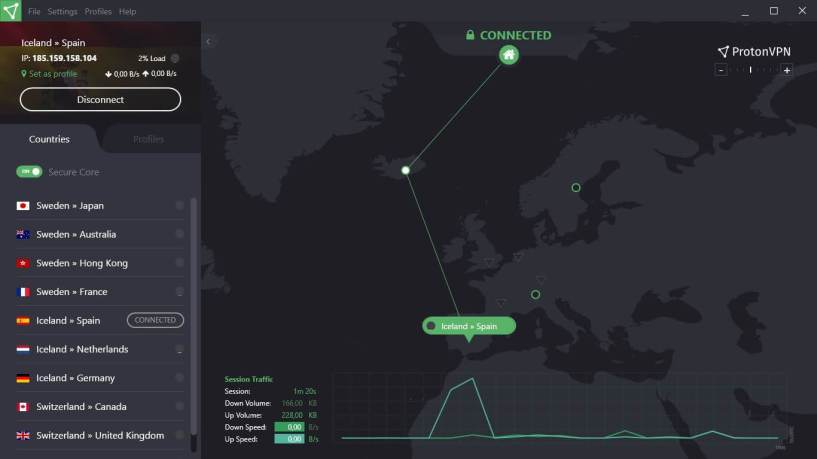 ProtonVPN Review- Privacy