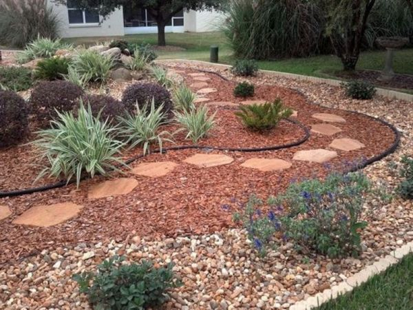 dry creek bed landscaping ideas