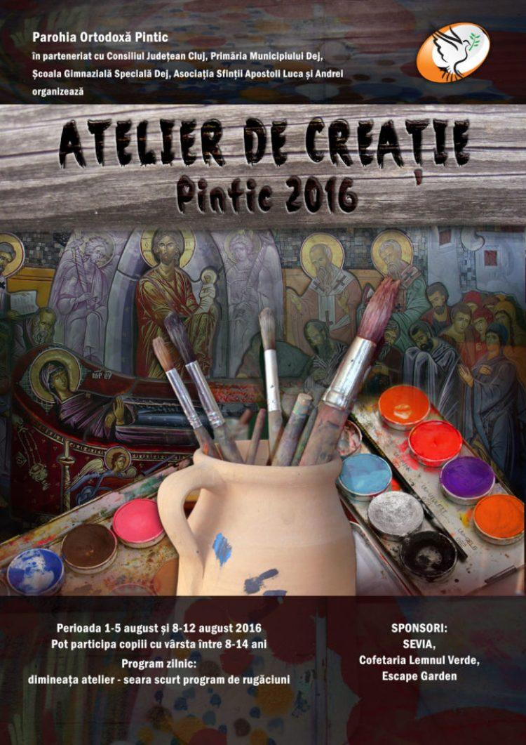 Atelier de creatie, Pintic 2016
