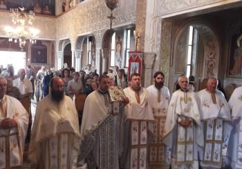 Sărbătorirea hramului la Parohia Ortodoxă din localitatea Viile Dejului