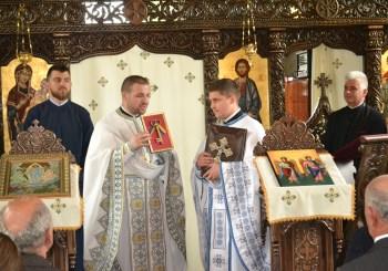 Instalarea părintelui Mihai Bodnariuc, ca preot paroh al Parohiei Codor