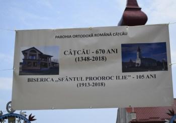 Hramul Parohiei Ortodoxe Câțcău