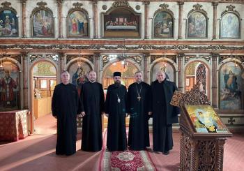 PS Părinte Benedict Bistriţeanul a vizitat cinci parohii din Protopopiatul Dej
