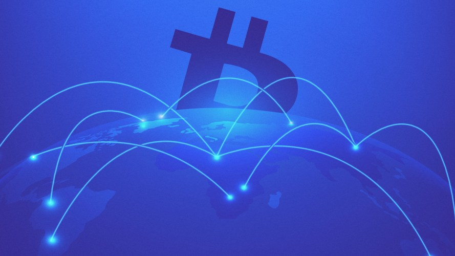 WeWork and Venmo both handle Bitcoin now, and this header image shows Bitcoin seeping through their networks.