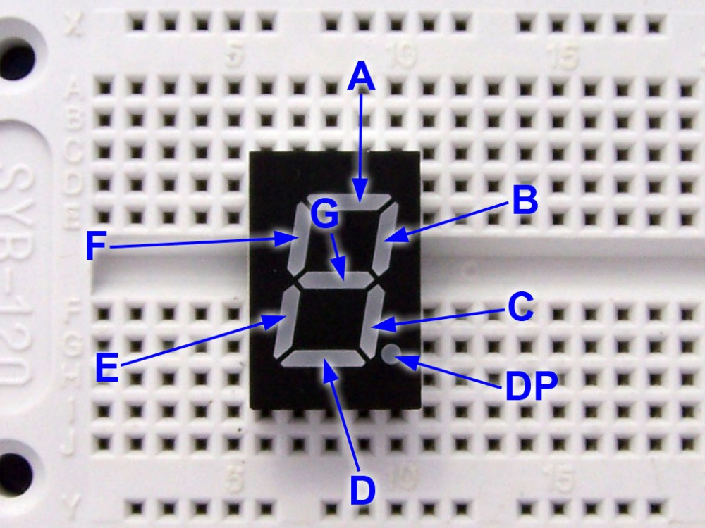 medium resolution of 7 segment module