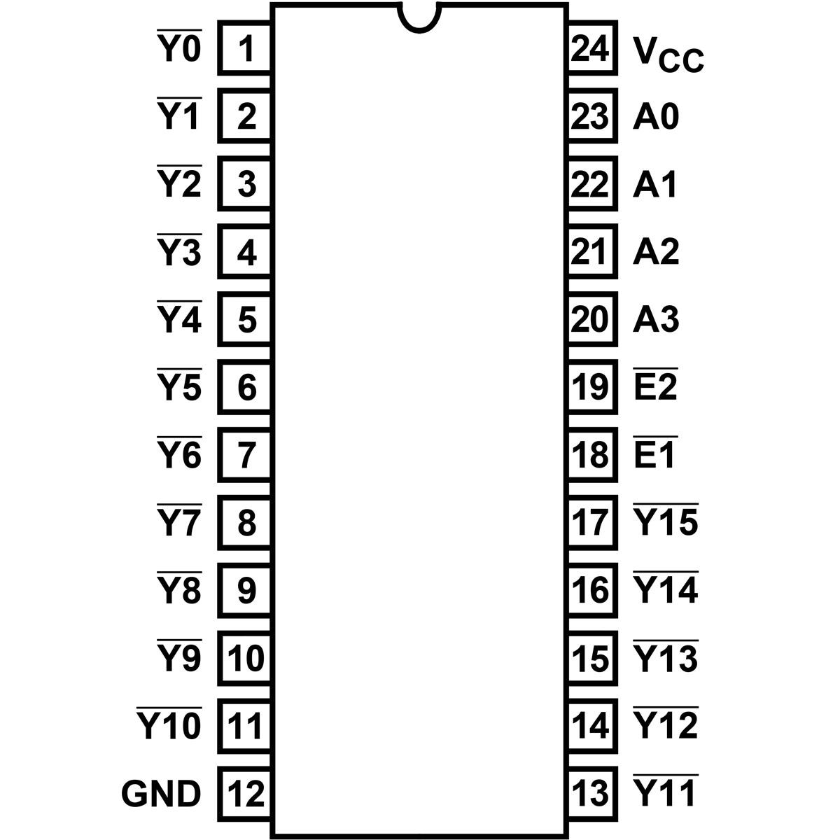hight resolution of 74hc154 high speed cmos logic 4 to 16 line decoder demulti