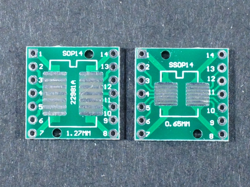 PCB SMD to DIP 14Pin Adapter 5Pack  ProtoSupplies