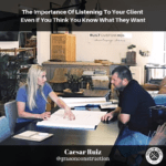 contractor podcast featuring Caesar Ruiz from garçon construction