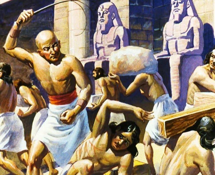 евреи в египетском рабстве Когда будет Пасха в 2021 году