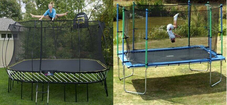 List of Synonyms and Antonyms of the Word: Long Trampolines