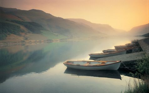 Tal-y-llyn Lake at Dawn, North Wales