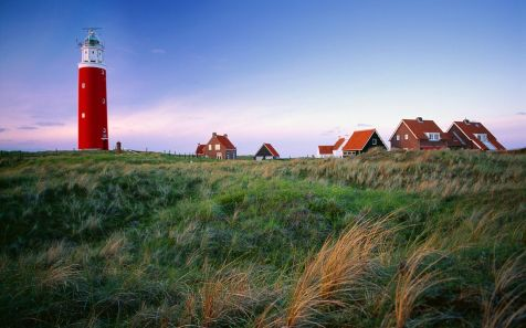 Texel island, West Frisian Islands, Waddeneilanden