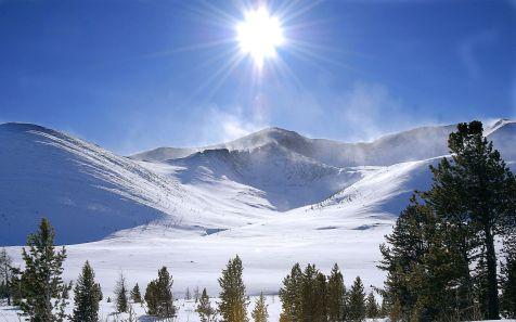 ????, ?????????? ??????? (Mountains in Khakassia)