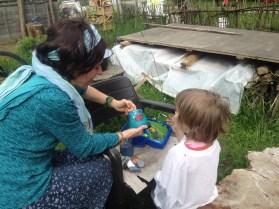 Aktionstag - Projekt Gartenverschönerung