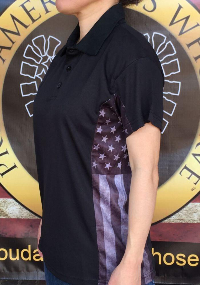 Womens Subdued Polo Shirt