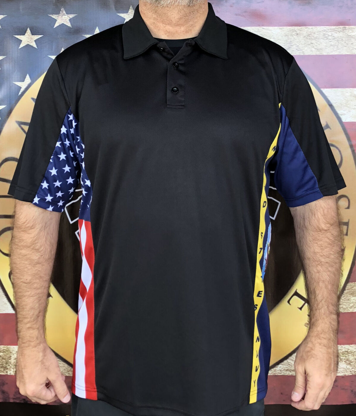 Navy Patriot Polo Shirt