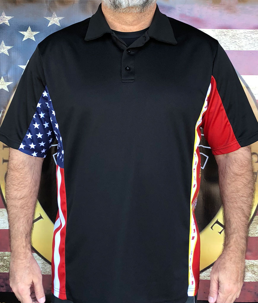 americans who served in Afghanistan polo shirt