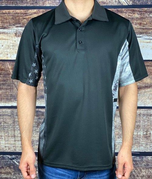 Modern Defiant Patriot subdued Polo Shirt Patriotic