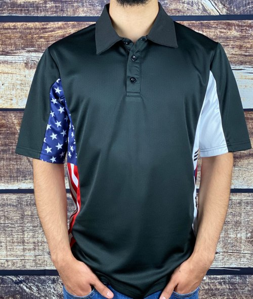 Korean American Heritage Polo Shirt, Patriotic