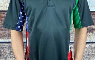 Mexican American Heritage Polo Shirt