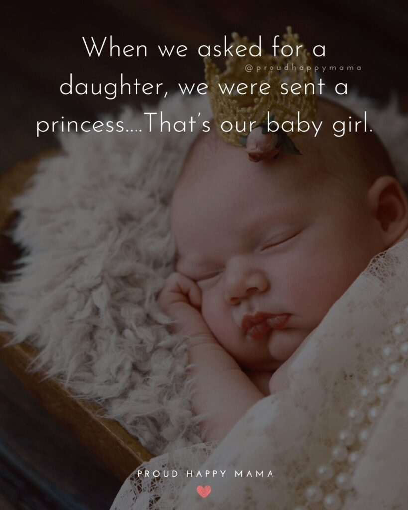 Cute Baby Girl Quotes With Images : quotes, images, Quotes, Welcome, Newborn, Daughter