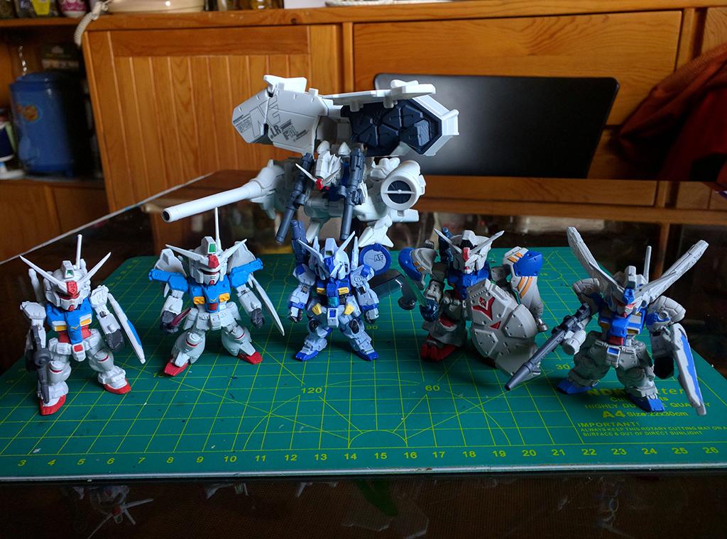 U.C.0083 Gundam開發計畫【FW Converge】