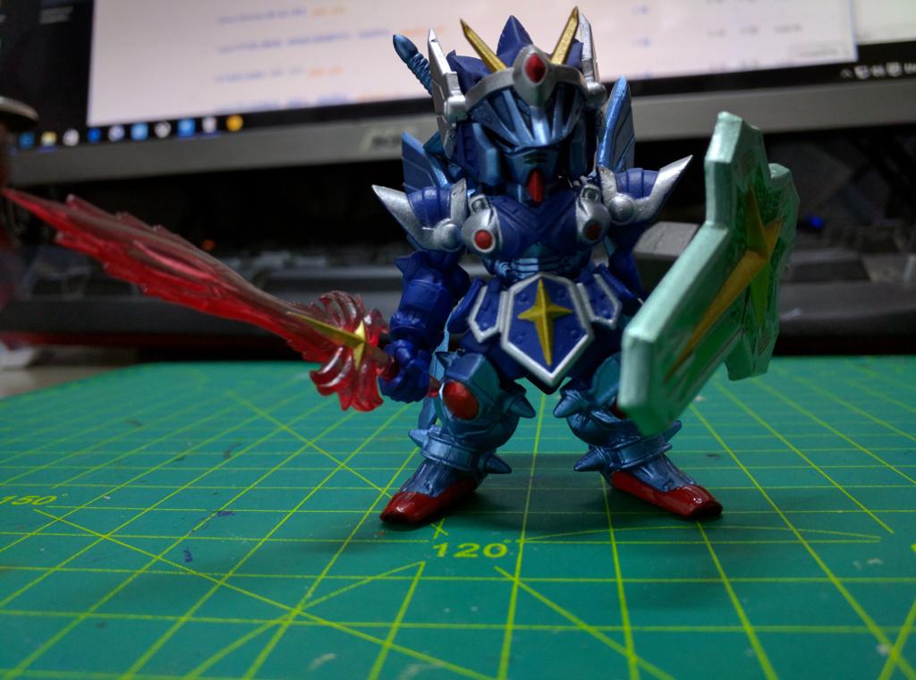 FW Gundam Converge EX 06 - 全武裝騎士高達