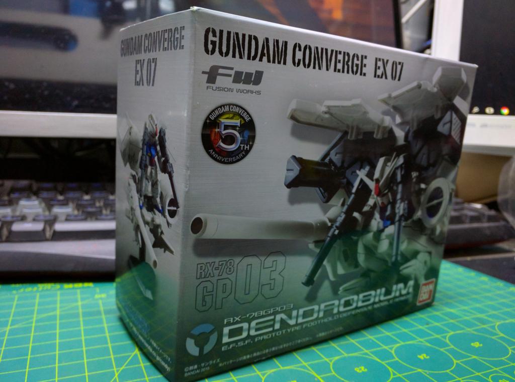 FW Gundam Converge EX 07 – GP03 Dendrobium