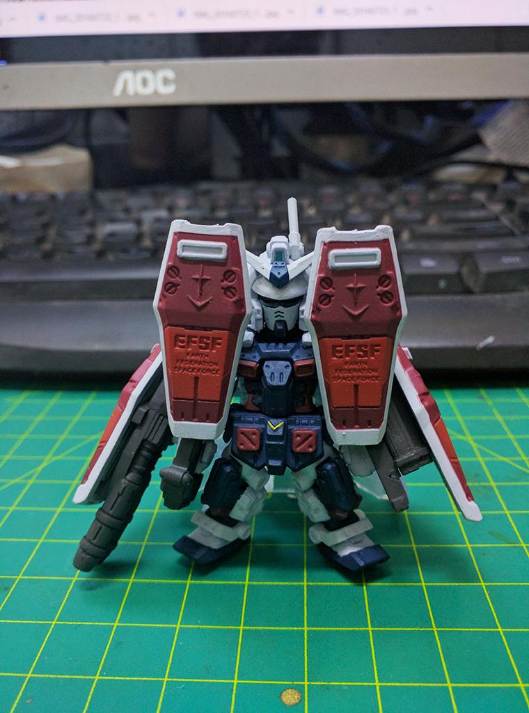 FW Gundam Converge EX 13 – FA-78 Full Armor Gundam