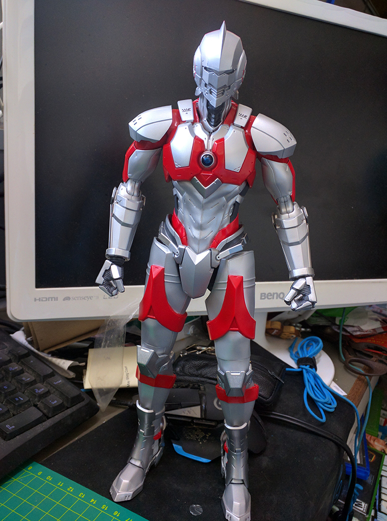 限值練 12' Hero's Meister Ultraman