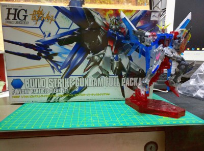 HGBF Build Strike Gundam Full Package - PP透明版