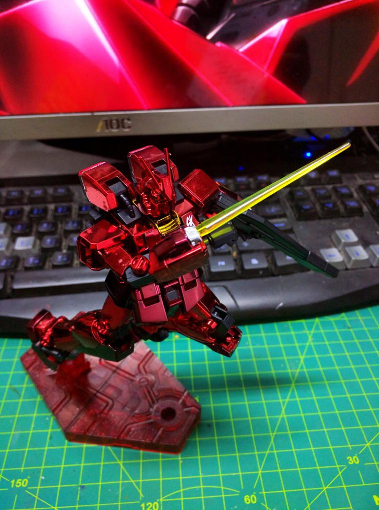 HGBF Gundam Amazing Red Warrior - 電鍍Ver.