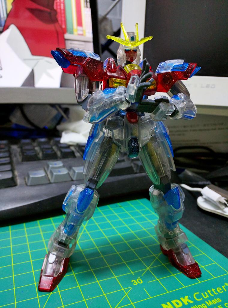 HGBF Try Burning Gundam - PP透明版