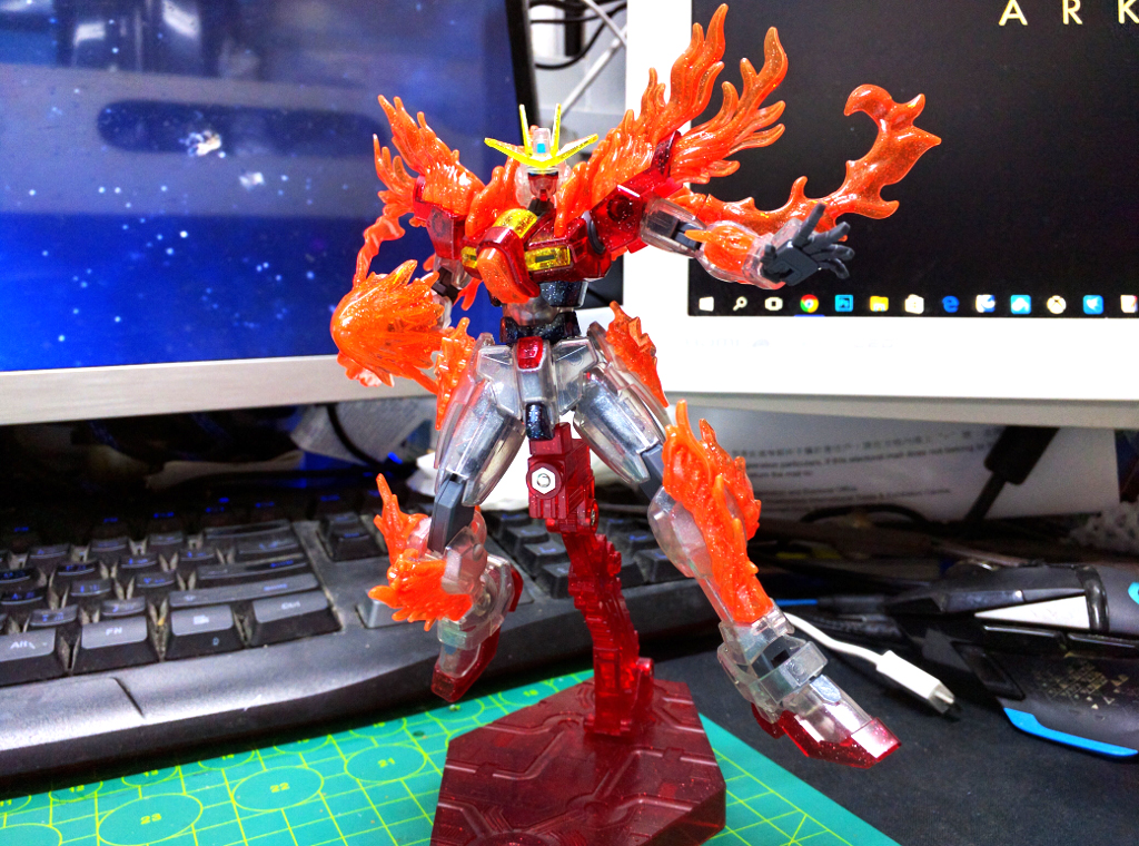 HGBF Try Burning Gundam - PP透明版