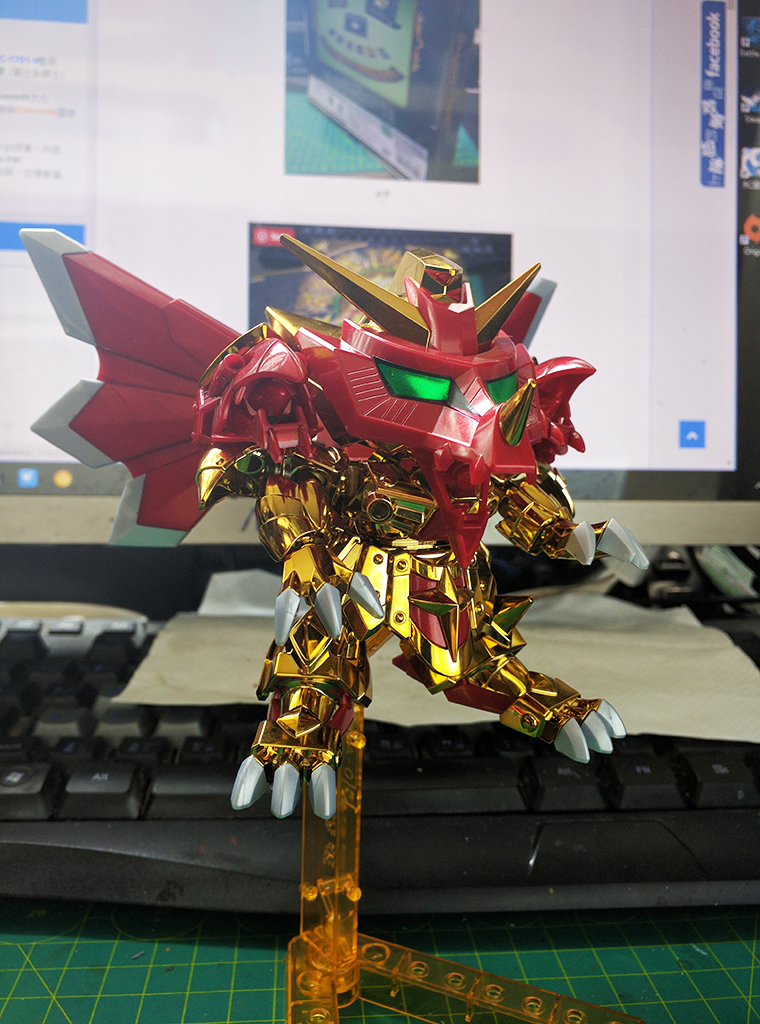 Legend BB 騎士超越之龍