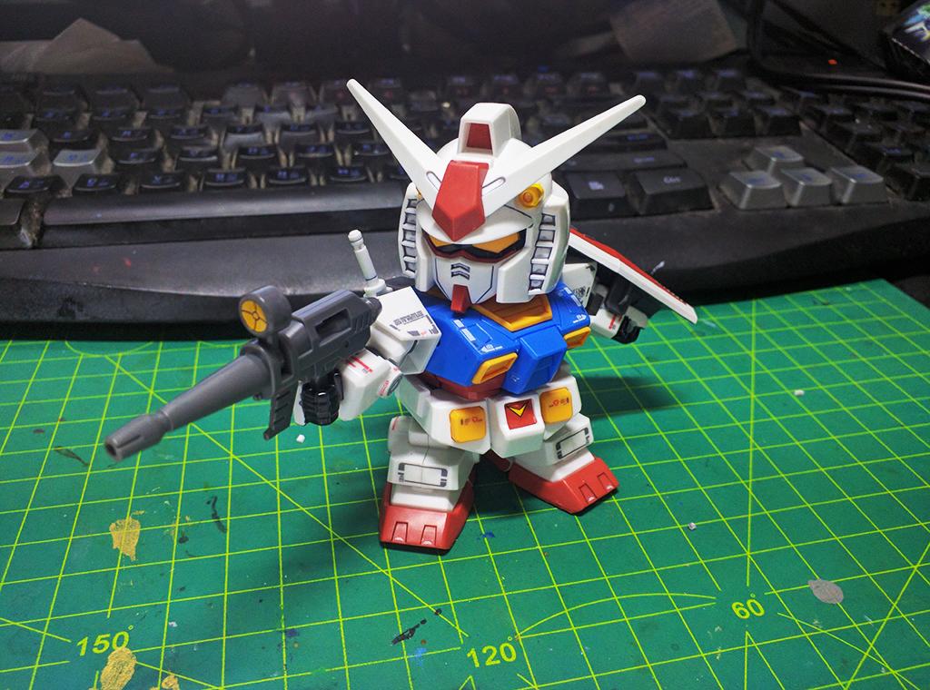 SD BB戰士 RX-78-2 Ver.GFT【台場限定】