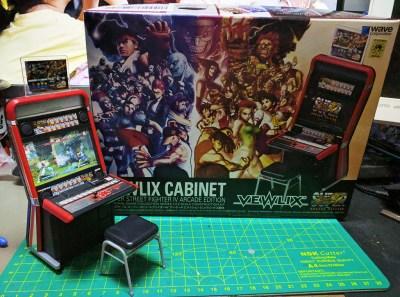 Wave 1/12 Vewlix Cabinet【超級街霸4 街機版本】