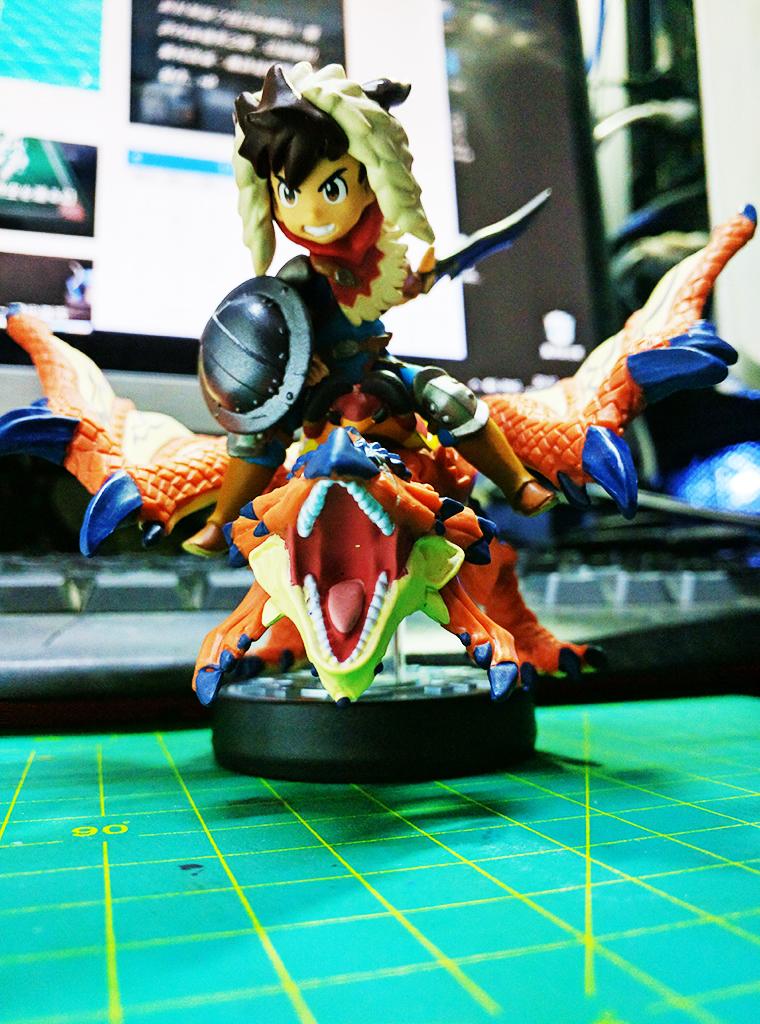 怪物獵人物語 Monster Hunter Story w/ Amiibo