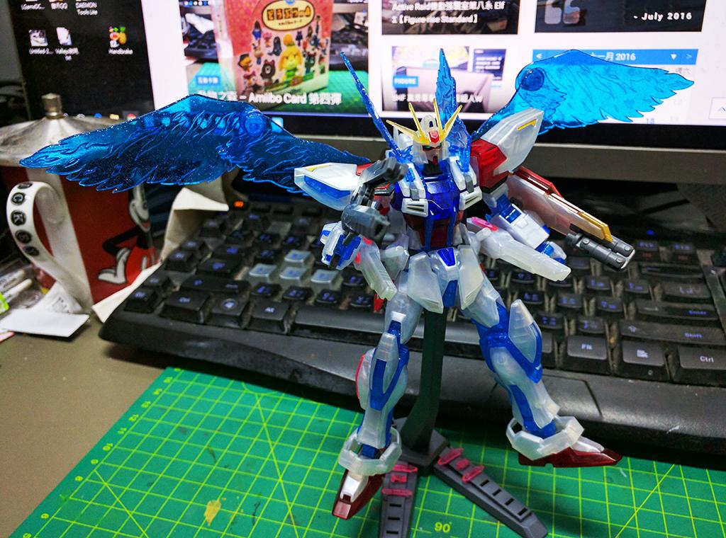 HGBF Star Build Strike Gundam ver. RG System