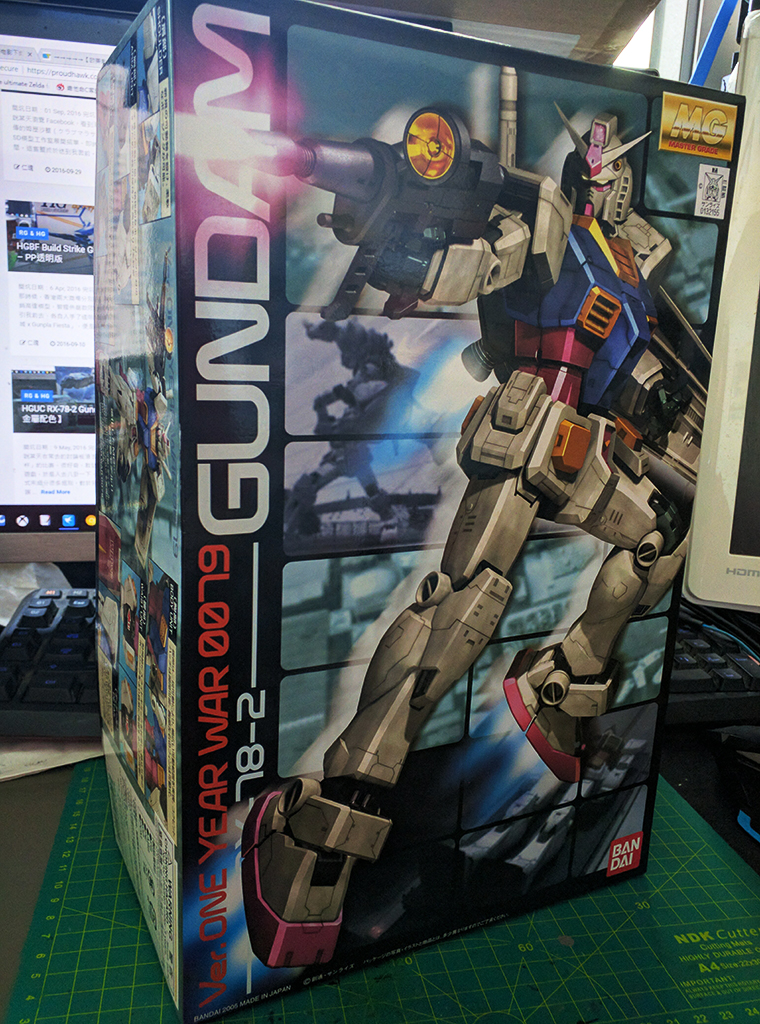 [Project-78] MG RX-78-2 Gundam ver. O.Y.W.【遊戲成色】