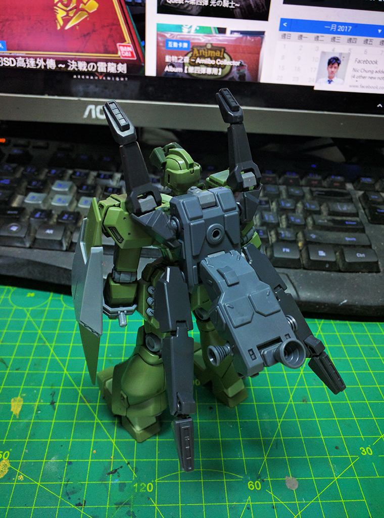 HGBF Ghost Jegan M【魂店限定】