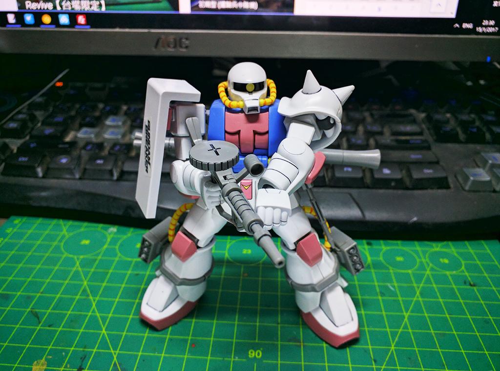 HGUC MS-06 量產型渣古II (Gundam Breaker ver.)